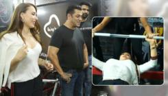 Watch: Salman Khan's alleged girlfriend Iulia Vantur is doing bench press like a pro