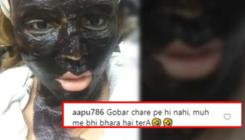 Rakhi Sawant trolled mercilessly for putting cow dung as face pack