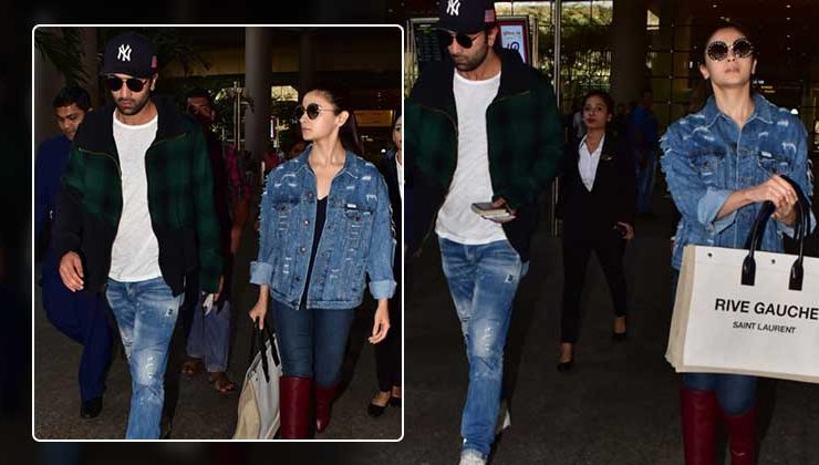 In Pics: Ranbir Kapoor and Alia Bhatt are back in the bay after ringing in New Year in NYC