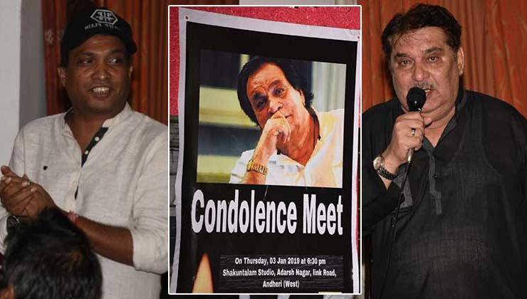 In Pics: Raza Murad, Sunil Pal and others mourn the death of Kader Khan at his prayer meet