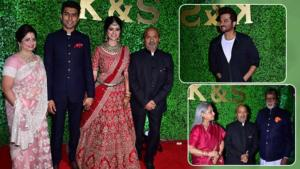 In Pics: Amitabh, Anil Kapoor and others grace lyricist Sameer Anjaan's daughter's wedding