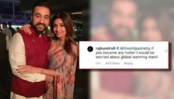 Shilpa Shetty indulges in playful banter with hubby Raj Kundra; Read Details