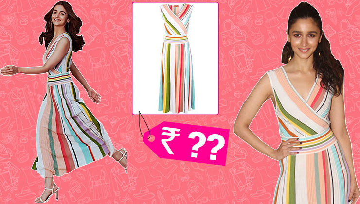 The cost of Alia Bhatt's Missoni rainbow dress will make your jaw hit the floor