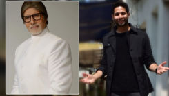 'MC Sher' Siddhant Chaturvedi on cloud nine after receiving a special gift from Amitabh Bachchan