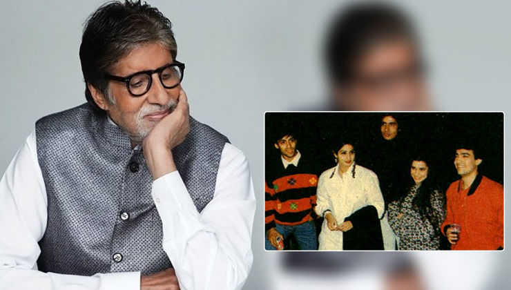 Amitabh Bachchan recalls his first concert with Sridevi, Aamir and Salman Khan