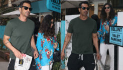 Arjun Rampal and GF Gabriella Demetriades spotted spending a lazy afternoon together