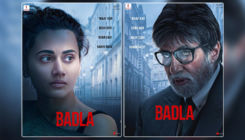 'Badla' poster: Amitabh Bachchan and Taapsee Pannu's intense looks will remind you of 'Pink'