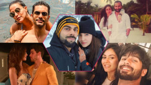 Bollywood couples honeymoon pictures