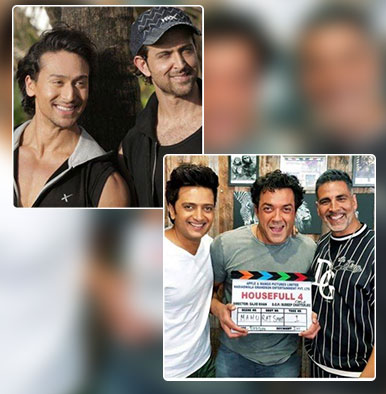 Hrithik Roshan-Tiger Shroff's film to clash with Akshay Kumar's 'Housefull 4' this Diwali?