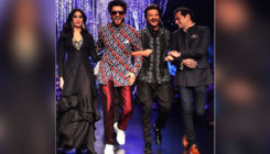 Watch: Anil Kapoor, Ranveer Singh and Janhvi turn heads as they walk the ramp together at LFW