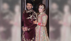 Kapil Sharma and Ginni Chatrath looked royal at their Delhi wedding reception, view pic