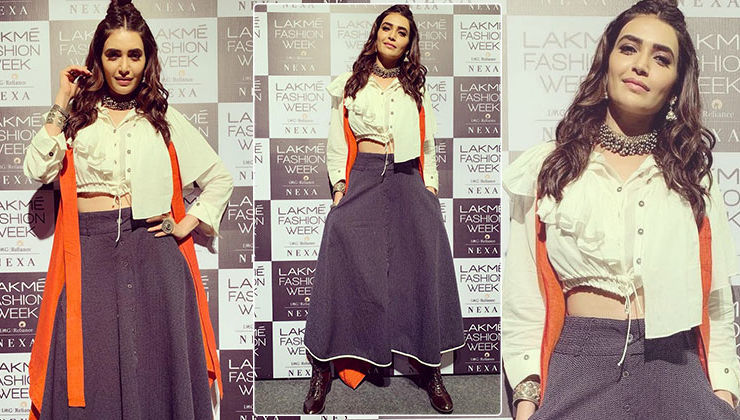 Lakme Fashion Week 2019: Karishma Tanna gives style inspiration as she goes chic and classy