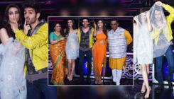 In Pics: Kartik Aaryan and Kriti Sanon have fun while promoting 'Luka Chuppi' on 'Super Dancer 3'