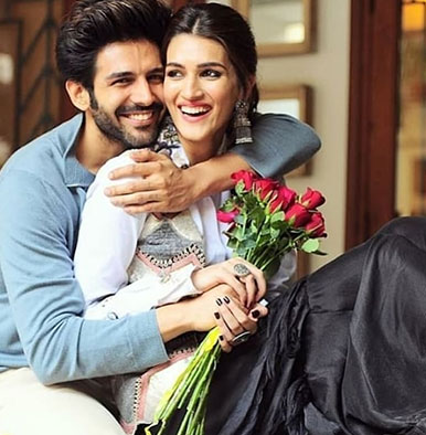 'Luka Chuppi' new poster: Kartik Aaryan and Kriti Sanon are here with some quirky fun