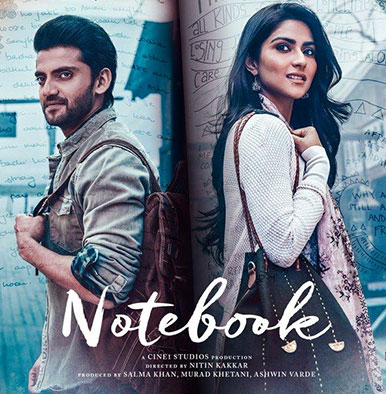 'Notebook': Zaheer Iqbal and Pranutan will steal your hearts away with a new poster