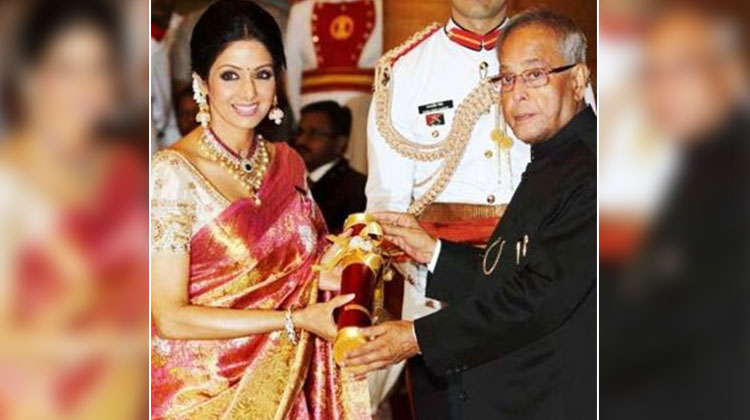 Honored with the Padma Shri
