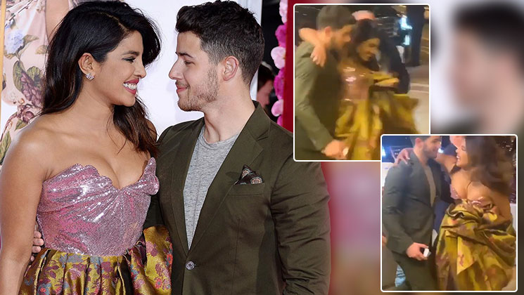 Nick Jonas saves Priyanka from an OOPS moment in public- watch video
