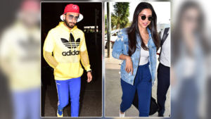 Airport Diaries: Deepika Padukone and Ranveer Singh spotted at airport