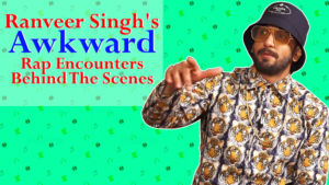 Ranveer Singh's awkward rap encounters behind the scenes