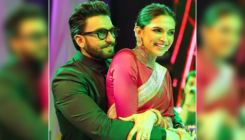 Ranveer Singh sends flying kisses to Deepika Padukone during 'The Kapil Sharma Show'