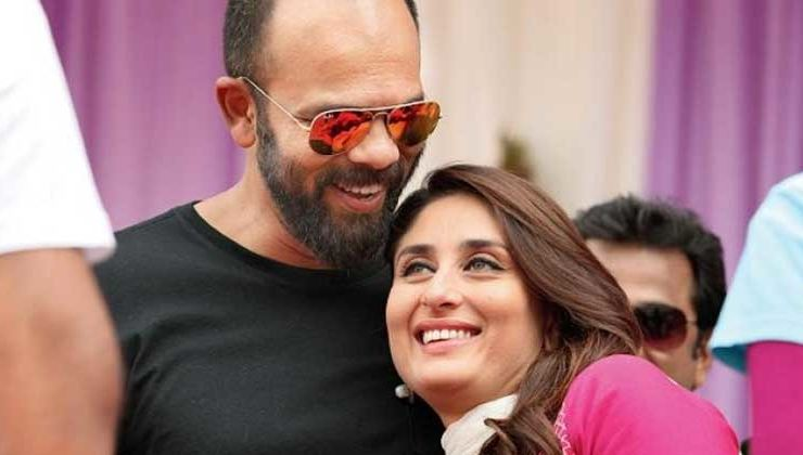 Filmmaker Rohit Shetty shares an endearing picture with Bebo
