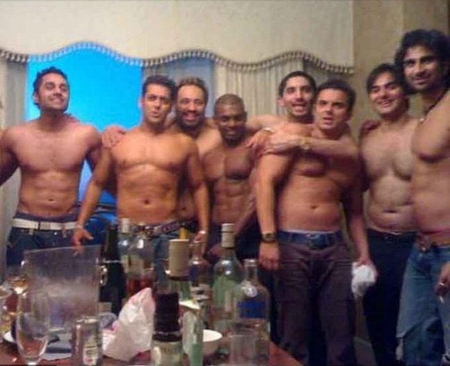 Salman Khan and His friends