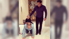 Watch: Here's what Salman is doing while Ahil Sharma enjoys ride on Nanu's back