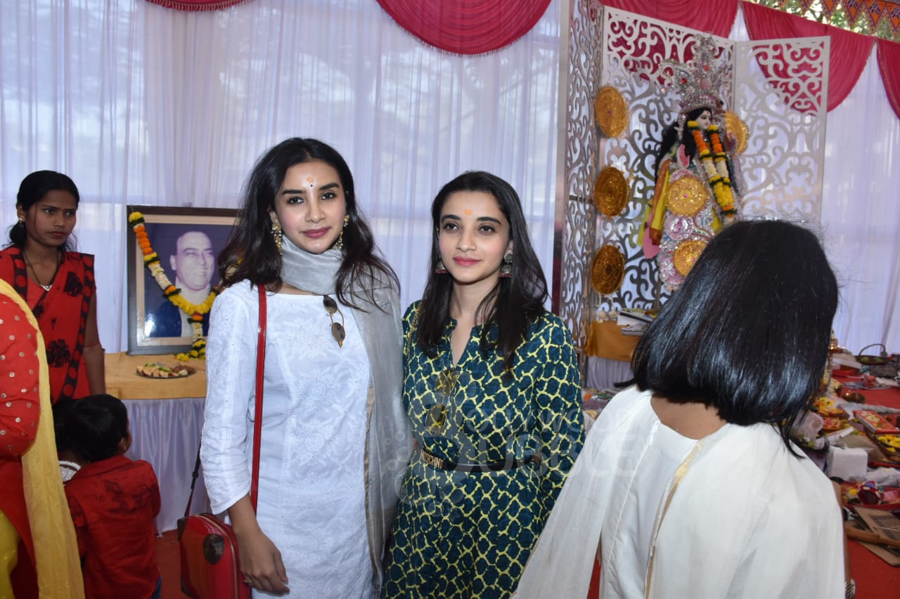 Patralekhaa with her sister