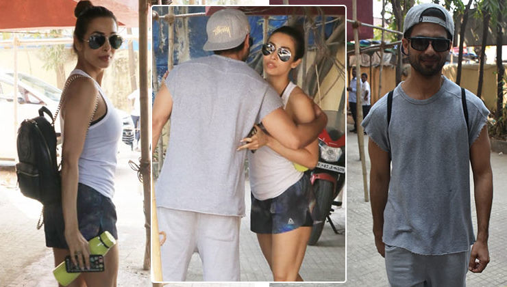 In Pics: Malaika Arora and Shahid Kapoor catch up over a Pilates session