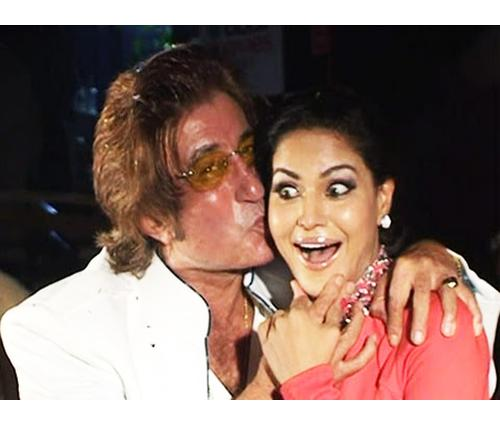 Shakti Kapoor and Veena Malik