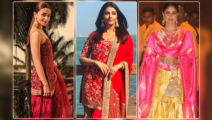 Deepika Padukone, Kareena Kapoor and others rock the gharara look in style