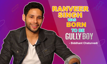 Siddhanth Chaturvedi: Ranveer Singh was BORN to be 'Gully Boy'
