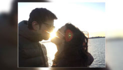 Sumeet Vyas gives wife Ekta Kaul a perfect KISS on Chocolate Day