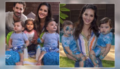 Watch: Sunny Leone and Daniel Weber celebrate twins' first birthday in the most epic way