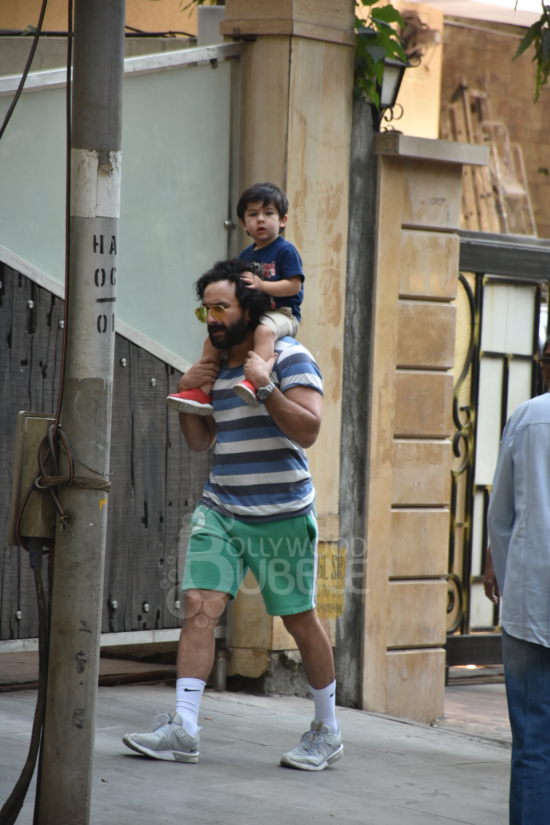 Taimur with Saif