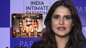 Zareen Khan Supports Plus Sized Women