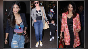 Airport Diaries: Kareena, Aishwarya, Shruti flaunt their style statement