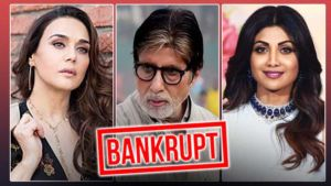 Bollywood celebs went bankrupt