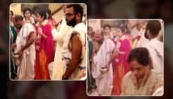 Sridevi Death Anniversary: Janhvi and Khushi Kapoor attend a puja ceremony in Chennai