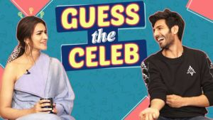 'Luka Chuppi': Kartik Aaryan and Kriti Sanon play the CRAZY game of 'Guess The Celeb'