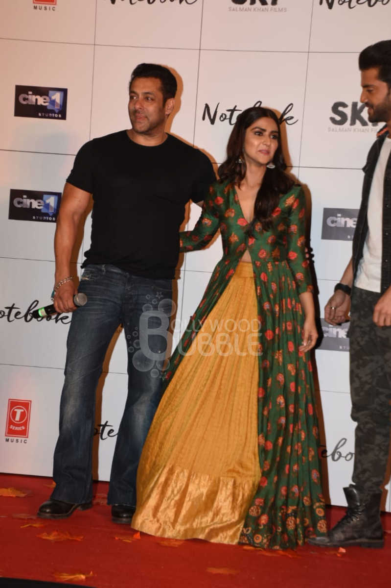 Salman Khan and Pranutan