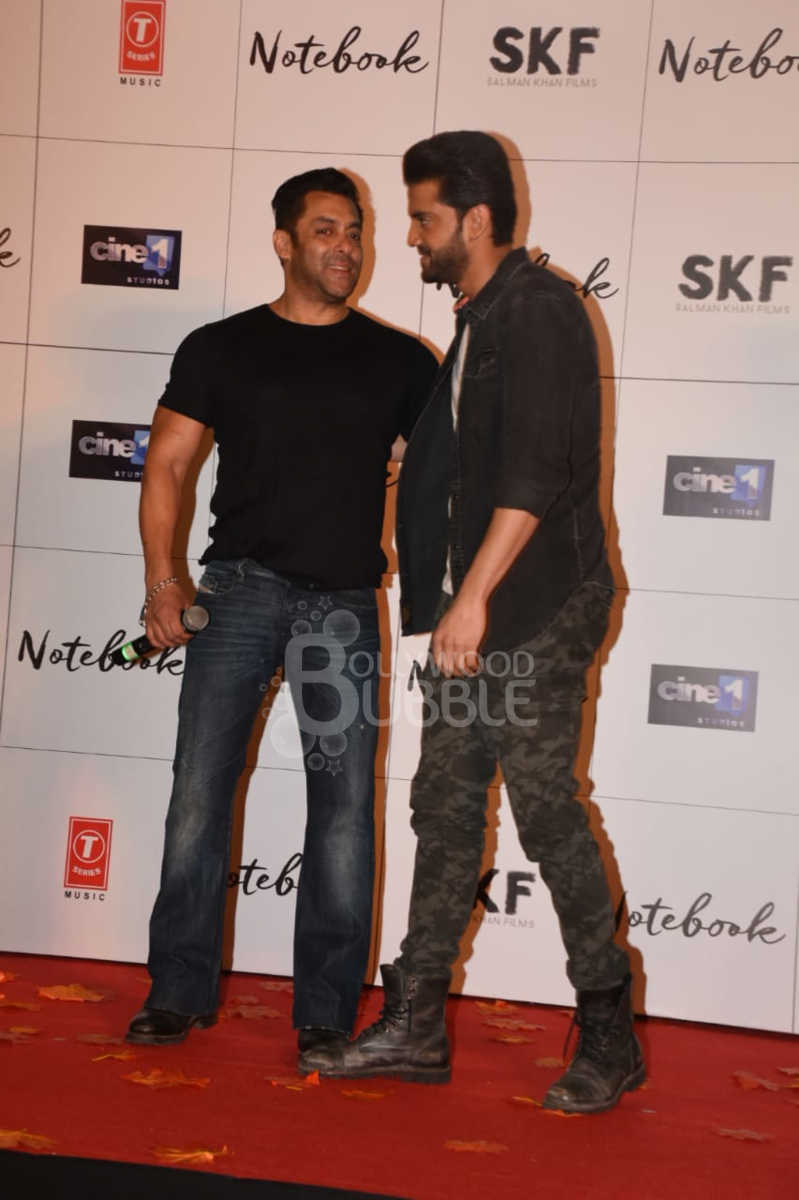 Salman Khan and Zaheer Iqbal