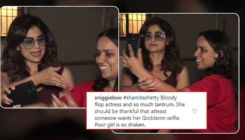 Shamita Shetty trolled ruthlessly for behaving rudely with a fan