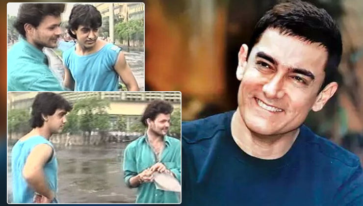 When Aamir Khan went around Mumbai streets sticking posters of his film