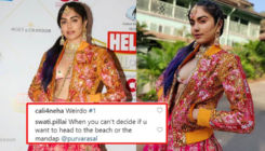 Adah Sharma trolled for sporting a fusion look at an award function