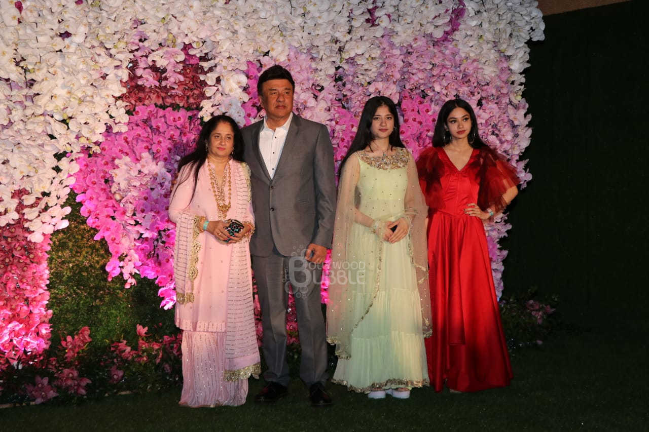 Anu Malik and Family