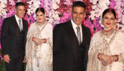 When Akshay Kumar and the eternal beauty Rekha came together at Akash Ambani-Shloka Mehta's wedding reception