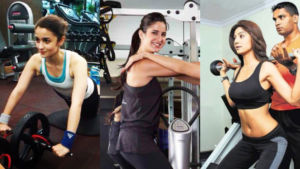 Deepika Padukone Katrina Kaif Bollywood Workout