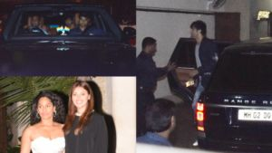 Pics: Ranbir Kapoor, Ayan Mukerji and others drop in to wish Alia Bhatt