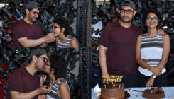 In Pics: Aamir Khan celebrates his 54th birthday with Kiran Rao and media
